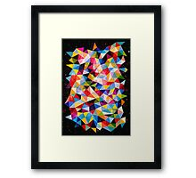 Space Shapes Framed Print
