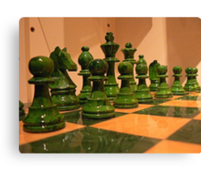 #46    Chess Pieces Canvas Print
