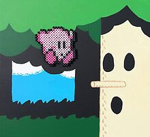 Kirby NES (Paints 'n' Beads) by christiantyner