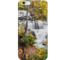 Sable Falls in Michigan's Pictured Rocks National Lakeshore iPhone Case/Skin