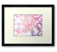 Red, White, Blue Framed Print
