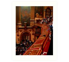 #72  View From The Lower Balcony At The Beacon Theater  Art Print