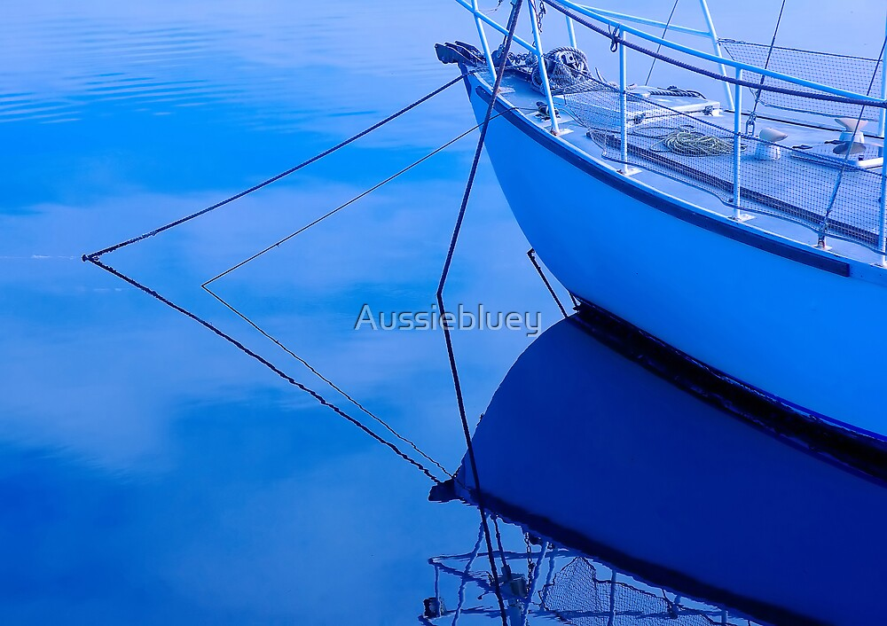 Marina Blues,2 by Aussiebluey