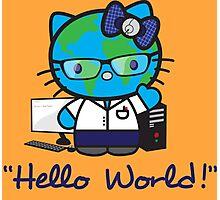 """Hello World!"" Photographic Print"