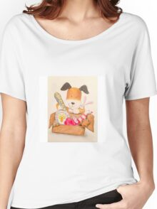 Childrens Classic kipper the dog Women's Relaxed Fit T-Shirt