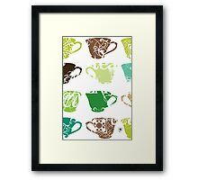 Green Tea Framed Print