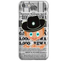 Toon Boy 12a Boy Sheriff iphone case  iPhone Case/Skin