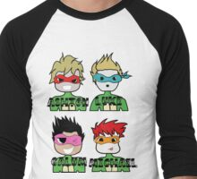 TMNT 5SOS Men's Baseball ¾ T-Shirt
