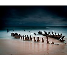 A beach with water Photographic Print