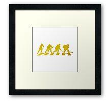 smart crossing (hockey road golden) Framed Print