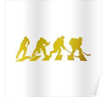 smart crossing (hockey road golden) Poster