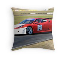 Ferarri F450 Throw Pillow