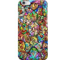 Colourful Disney Stained Glass Character Art Window Church iPhone Case/Skin