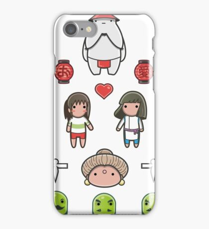 Spirit Away - Sticker Pack #1 iPhone Case/Skin