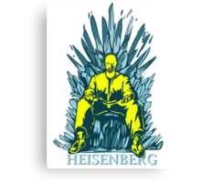 funny Walter of throne  Canvas Print