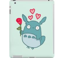 Little Totoro Love iPad Case/Skin