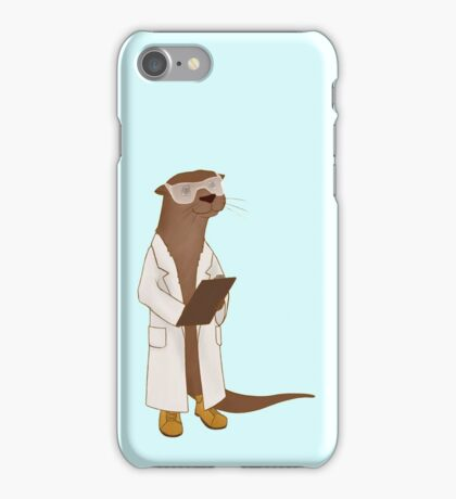 Science Otter! iPhone Case/Skin