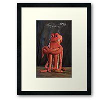Octopus with Cigar Framed Print
