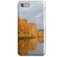 Glide on the Creek iPhone Case/Skin