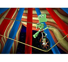 Highwire Robot Photographic Print