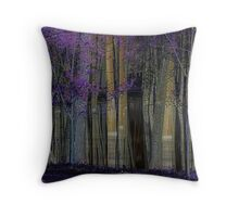 A Forest of Reflections Throw Pillow