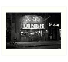 American Diner Art Print