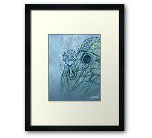 Willy Whisk Framed Print