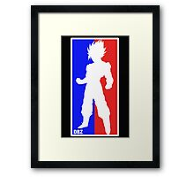 Goku Sport Logo Framed Print