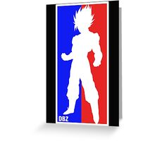 Goku Sport Logo Greeting Card