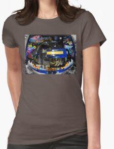 Honda Civic JDM graffiti t-shirt Womens Fitted T-Shirt
