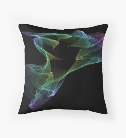Ghostly Apparition Throw Pillow