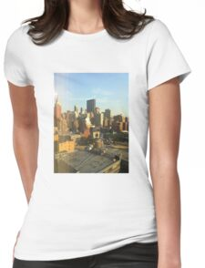 42nd and 10th Womens Fitted T-Shirt