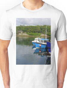 Fishing boats, Stornoway harbour Unisex T-Shirt