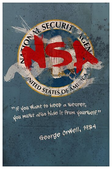 NSA Orwell by SixPixeldesign