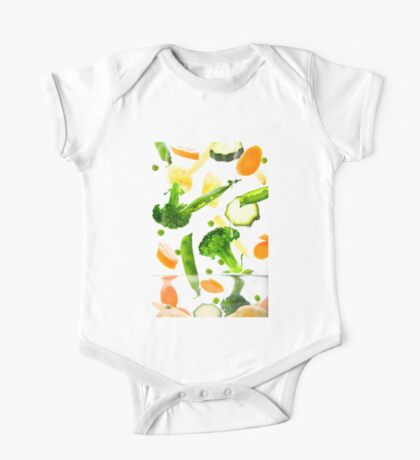 Healthy Vegetables One Piece - Short Sleeve