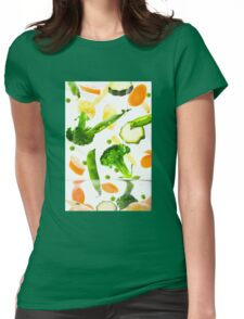 Healthy Vegetables Womens Fitted T-Shirt