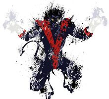 Splatter Paint Classic Nightcrawler by chemicaltaint