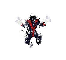 Splatter Paint Classic Nightcrawler Photographic Print
