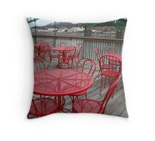 Sit Down and Relax Throw Pillow