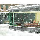 Christmas Nighthawks by SixPixeldesign