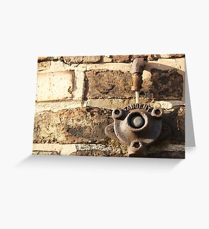 Decay: tangent Greeting Card