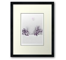 Subtle Seasons greetings Framed Print