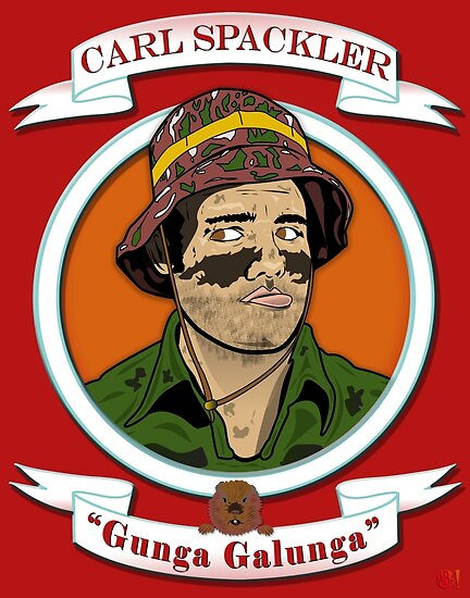 Caddyshack - Carl Spackler by Michael Donnellan