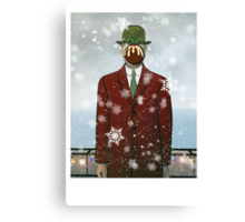 The Christmas Son of Man Canvas Print
