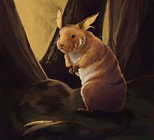 Raichu the Hamster by Ashley Dadoun