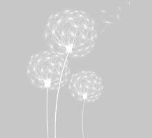 Dandelion in the Wind by Aja Lyonfields
