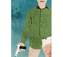Walter White (distressed) Photographic Print
