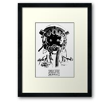 What does it mean to be human? Framed Print
