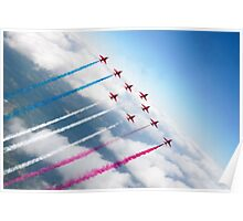 The RAF Red Arrows  Poster