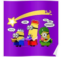 The Three Wise Minions Poster